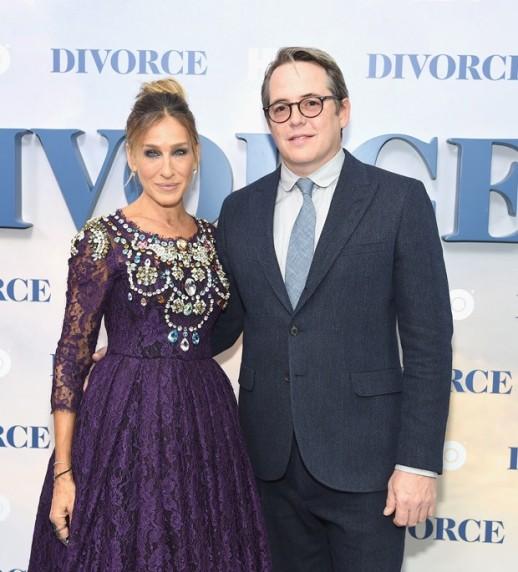 Sarah Jessica Parker e o marido, Matthew Broderick
