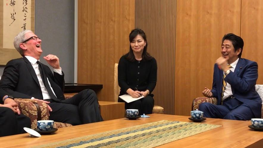 tim-cook-japao-primeiro-ministro