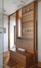 Rodrigo montou até mesmo uma sauna em um dos banheirosFoto: MCA Studio/Divulgação