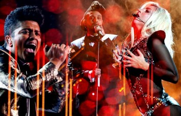Já as atrações ficam por conta de Bruno Mars, The Weeknd e Lady Gaga - todos com álbuns novos!