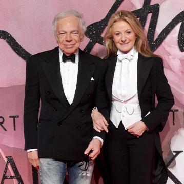 Ralph Lauren e Ricky Anne