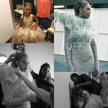 Ela fez as tranças da Beyoncé e da Blue Ivy