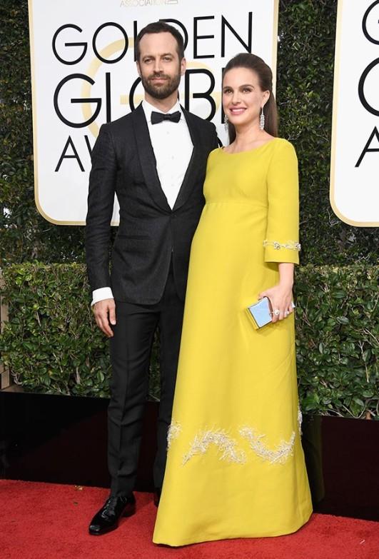 Natalie com o marido, Benjamin (Foto: Getty Images)