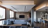 O cinza predomina no apartamento gaúcho com estofados e paredes em tons variados. A reforma integrou toda a parte socialFoto: Marcelo Donadussi / Divulgação Leia mais: https://oglobo.globo.com/ela/decoracao/cozinha-preta-iluminacao-cenica-sao-detalhes-que-dao-sofisticacao-apartamento-de-solteiro-21351321#ixzz4hb3d3ATS stest