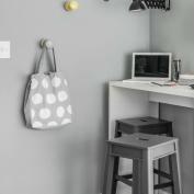 Home office muito bem aproveitado reforça a funcionalidade do apartamento. Foto: Adriano Escanhuela