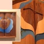 A artista plástica Ana Nitzan tem um trabalho de sublimação inspirado na natureza