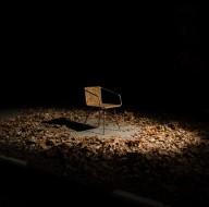 O designer Simon Kern recebeu o prêmio de inovação com a sua cadeira Beleaf, feita de materiais reciclados combinados com bio-resina (Foto: Reprodução)