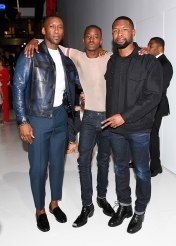 "Mahershala Ali, Ashton Sanders e Trevante Rhodes, todos do elenco de ""Moonlight"""