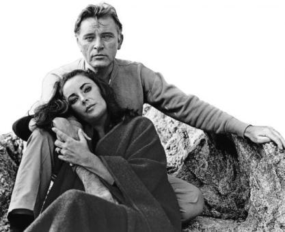 Liz Taylor e Richard Burton
