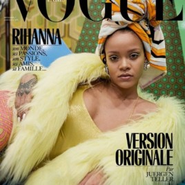"""""""Ela é top, capa de revista""""- 8 vezes Rihanna! Aqui, na """"Vogue"""" Paris"""