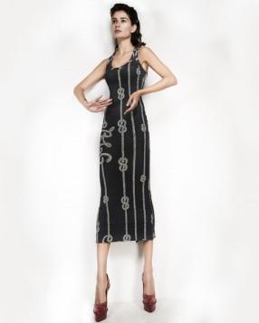 Vestido regata cinza (R$ 1.200)