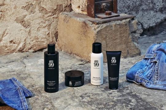 Serão 21 produtos, incluindo cuidados para barba, cabelos e tatuagens Foto: Divulgação/ 99 House