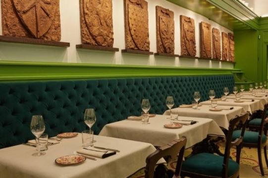 O espaço do restaurante é intimista: possui apenas 50 lugares Foto: Divulgação/ Gucci
