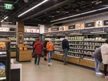 Loja em Seattle tem 167 metros quadrados.