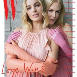 """E surpresa: uma das capas da """"W Magazine"""" de janeiro/2018"""