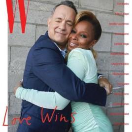 E Tom Hanks com Mary J Blige
