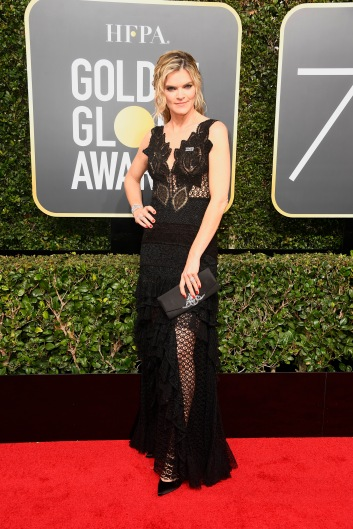 BEVERLY HILLS, CA - JANUARY 07: Actor Missi Pyle attends The 75th Annual Golden Globe Awards at The Beverly Hilton Hotel on January 7, 2018 in Beverly Hills, California. (Photo by Frazer Harrison/Getty Images)