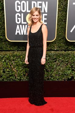 BEVERLY HILLS, CA - JANUARY 07: Actor Samara Weaving attends The 75th Annual Golden Globe Awards at The Beverly Hilton Hotel on January 7, 2018 in Beverly Hills, California. (Photo by Frazer Harrison/Getty Images)