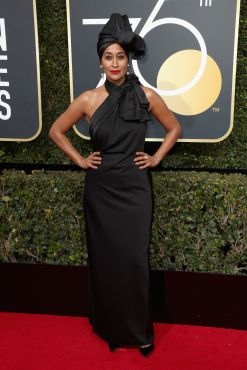 BEVERLY HILLS, CA - JANUARY 07: Actor Tracee Ellis Ross attends The 75th Annual Golden Globe Awards at The Beverly Hilton Hotel on January 7, 2018 in Beverly Hills, California. (Photo by Frederick M. Brown/Getty Images)
