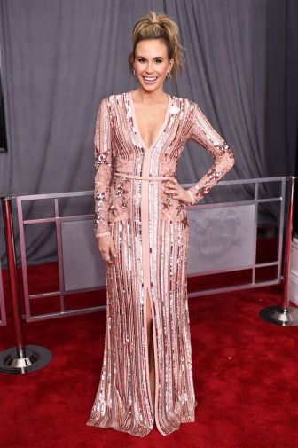 NEW YORK, NY - JANUARY 28: TV personality Keltie Knight attends the 60th Annual GRAMMY Awards at Madison Square Garden on January 28, 2018 in New York City. (Photo by Dimitrios Kambouris/Getty Images for NARAS)