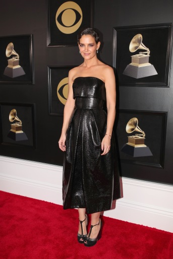 NEW YORK, NY - JANUARY 28: Actor Katie Holmes attends the 60th Annual GRAMMY Awards at Madison Square Garden on January 28, 2018 in New York City. (Photo by Christopher Polk/Getty Images for NARAS)