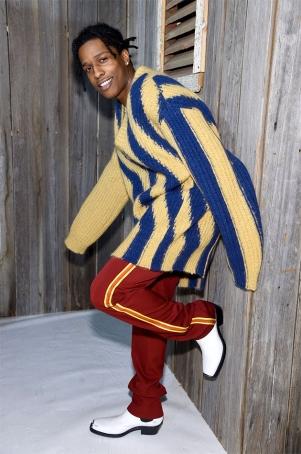 O rapper A$AP Rocky