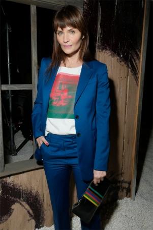 A supermodelo Helena Christensen