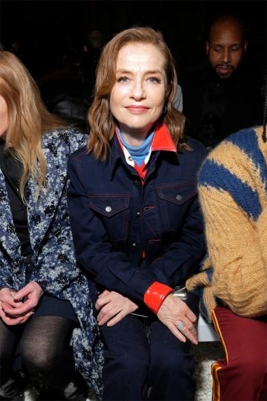 A francesa Isabelle Huppert