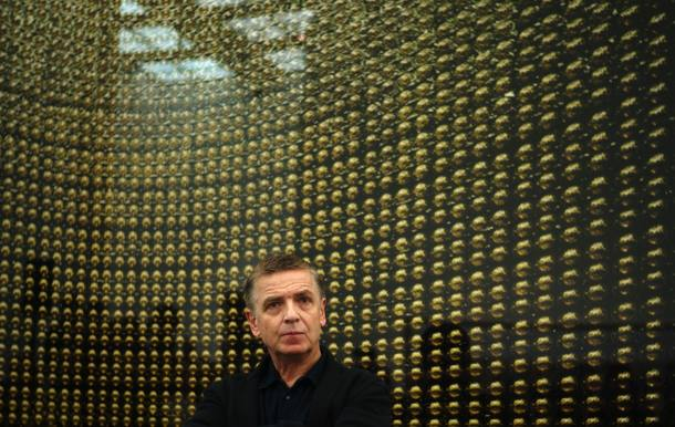 German photographer Gursky attends news conference at opening of his exhibition at Museum Kunstpalast in Duesseldorf