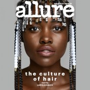 """Por outro lado, a revista americana especializada em beleza """"Allure"""" colocou a bela na capa da sua edição de março com o tema """"A Cultura do Cabelo"""""""