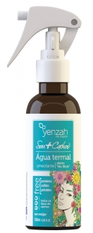 Água Termal Primeira água termal específica para os cabelos, é ideal para cabelos cacheados. Água Termal Umectante, Yenzah, R$ 22,90