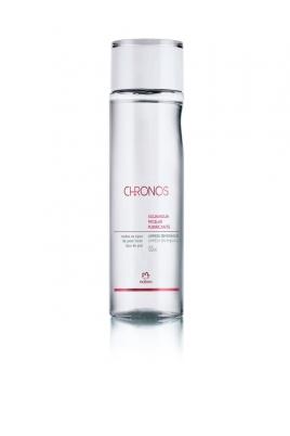 Água Micelar Ajuda a manter a firmeza da pele e mantém a pele hidratada por até 8h. Por ter o pH igual ao das lágrimas, não irrita os olhos. Chronos Água Micelar Purificante, Natuara, R$49,80 (150 mL)