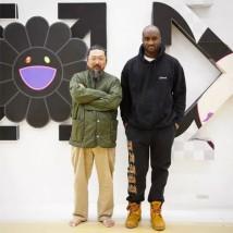Enquanto isso, na Gagosian Gallery da Davies Street de Londres, uma exposição a quatro mãos de Takashi Murakami com Virgil