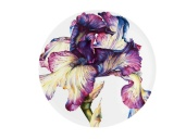 Peça da coleção Floris, da Vista Alegre. (Divulgação/Vista Alegre)