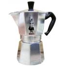 Cafeteira Bialetti modelo Nuova Moka Express (R$ 386,91) para 12 xícaras de café. Modelo italiano clássico à venda na Doural Foto: Foto: Doural