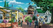 O parque vai contar com estátuas dos personagens criados pelo estúdio