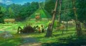 Um dos pontos enfatizados pelo estúdio foi a integração da natureza com as construções do parque