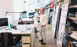 QG da estilista Isabel Marant em Paris II Créditos: Reprodução/ The Selby
