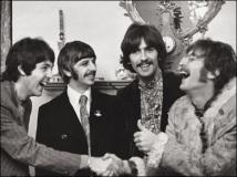 PAUL, RINGO, GEORGE E JOHN, OS BEATLES EM 1968 Paul McCartney transformou em livro algumas fotos tiradas pela fotógrafa Linda McCartney, com quem foi casado entre 1969 e 1998, quando ela morreu de câncer Foto: Linda McCartney