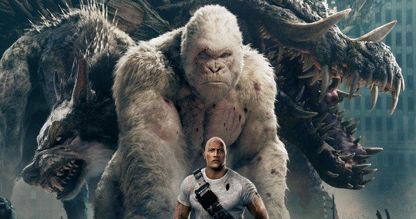 Rampage-Movie-New-Release-Date-Posters-Dwayne-Johnson