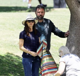Ben Affleck e Jennifer Garner (Foto: Grosby Group)