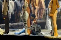 9. Yeezy Apesar do seu problemático estilista, o rapper Kanye West, a marca do grupo Adidas continua sendo uma das mais populares do momento. O ponto alto de suas criações são os tênis, que possuem uma legião de fãs e esgotam em minutos no mundo todo Foto: REUTERS/Andrew Kelly