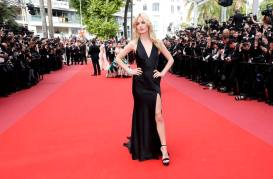CNN01. CANNES (FRANCIA), 08/05/2018.- La modela inglesa Georgia May Jagger llega para la proyección de 'Everybody Knows' (Todos Lo Saben) y la Ceremonia de Apertura del 71° Festival de Cine de Cannes hoy, martes 8 de mayo de 2018, en Cannes (Francia). Presentada en competencia, la película abre el festival que se celebra del 8 al 19 de mayo. EFE/Nicholas Hunt/POOL