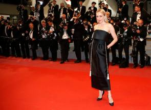 71st Cannes Film Festival - Screening of the film Cold War (Zimna wojna) in competition - Red Carpet Arrivals - Cannes, France, May 10, 2018. Chloe Sevigny, member of the Semaine de la Critique's Jury, poses. REUTERS/Jean-Paul Pelissier