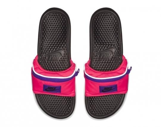 O modelo 'Fanny Pack' estará disponível em três opções de cores Foto: Divulgação/Nike