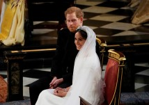Príncipe Harry e Meghan Markle (Foto: Owen Humphreys/pool via AP)