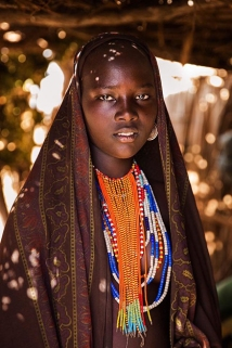 An indigenous woman from the Omo Valley in Ethiopia