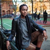 Mulher fotografada em Nova York II Créditos: Mihaela Noroc