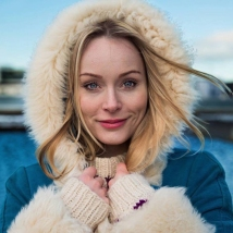 """Thorunn in Reykjavik, Iceland, is a singer, songwriter, and judge on """"Iceland's Got Talent."""""""