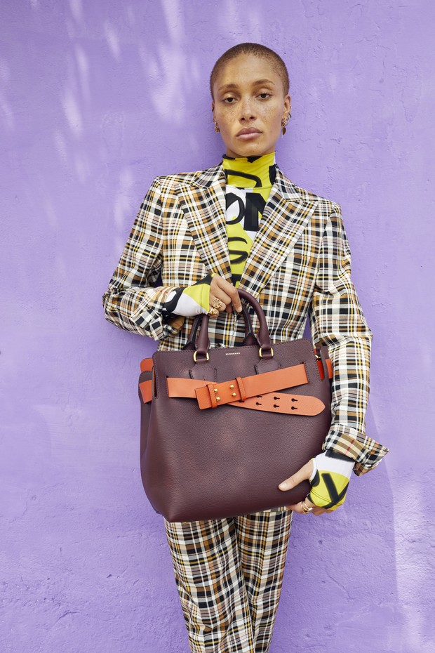adwoa_aboah_in_a_graffiti-print_bodysuit_and_tailored_check_suit_and_carrying_the_medium_belt_bag_c_courtesy_of_burberry_juergen_teller